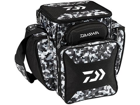 Daiwa D-VEC Tactical Soft Sided Tackle Box (Size: Large / Digital Camo)