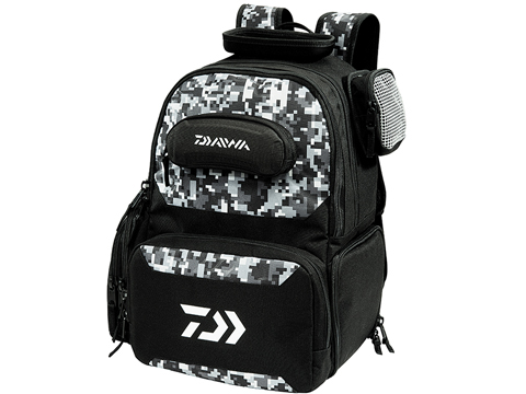 Daiwa D-VEC Tactical Soft Sided Tackle Box (Size: Backpack / Digital Camo)