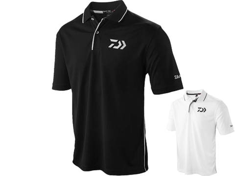 DAIWA D-VEC Polo Shirt w/ Embroidered Vector Logo