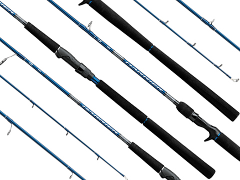 Daiwa Harrier® Jigging Series Fishing Rods