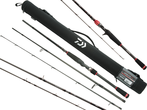 Daiwa Ardito-TR Multi-Piece Combo Spinning & Casting Travel Fishing Rod (Model: ARDT70MHF-SC)