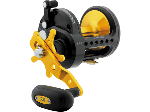 Daiwa SALTIST� Black Gold Star Drag Conventional Fishing Reel (Model: STTBG40H)