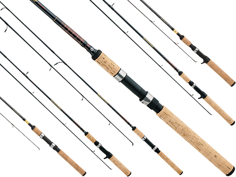 Daiwa Sweepfire-D® Trigger Grip Casting Fishing Rod