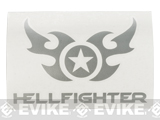 SureFire HellFighter® Vinyl Decal - Silver