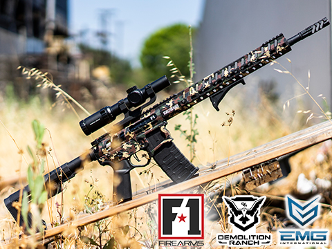 Demolition Ranch UDR-15 AR15 Airsoft AEG Training Rifle by EMG / F-1 Firearms (Model: Standard)