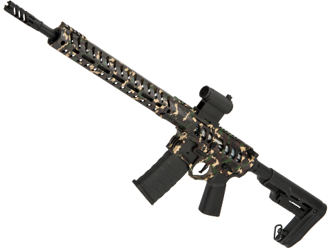 Demolition Ranch UDR-15 AR15 Airsoft AEG Training Rifle by EMG / F-1 Firearms (Model: Cerakote / Standard / eSE)