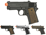 (NEW YEAR'S EPIC DEAL!!!) Matrix Elite Detonics 1911 .45 Combat Master Airsoft Gas Blowback Pistol (Model: Black)