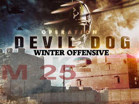 Operation Devil Dog Winter Offensive (February 9-11, 2018 , K2 Combat Towns, Camp Pendleton California)