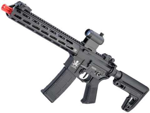 Matrix Calico Jack M4 Airsoft AEG Rifle w/ M-LOK Handguard & MOSFET (Model: Carbine / Advanced Receiver / M4 Stock / Black)
