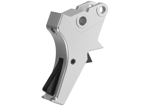 Dynamic Precision Tactical Match Style Trigger for Tokyo Marui M&P9 Series Airsoft Pistols (Color: Silver)