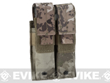 Pro-Arms Tactical MOLLE Double Pistol Magazine Pouch (Color: Arid Camo)
