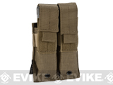 Pro-Arms Tactical MOLLE Double Pistol Magazine Pouch - Coyote