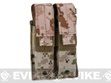 Pro-Arms Tactical MOLLE Double Pistol Magazine Pouch - Digital Desert