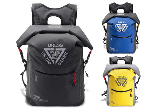 DRESS AIR 25L Waterproof Roll-top Backpack