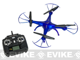 Tenergy X5SC Quadcopter with 720P Camera and Extra Battery - Thunder Blue
