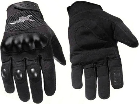 Wiley-X Durtac All-Purpose Hard Knuckle Gloves (Size: Black / Large)