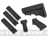 DYTAC SOPMOD Furniture Kit for M4 / M16 Series Airsoft Rifles (Color: Type A / Black)