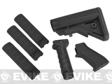 DYTAC SOPMOD Furniture Kit for M4 / M16 Series Airsoft Rifles - Type B / Black