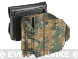DYTAC Camo Universal Holster for Glock Pistols - Digital Woodland