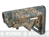 DYTAC SOPMOD Retractable Crane Stock for M4 Series Airsoft Rifles (Color: Digital Woodland)