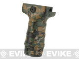 DYTAC Camouflage Eco TD Short Vertical Grip - Woodland Digital
