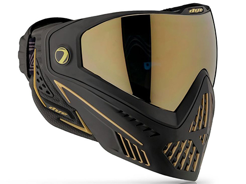 Dye i5 Pro Airsoft Full Face Mask (Style: Onyx & Gold 2.0)