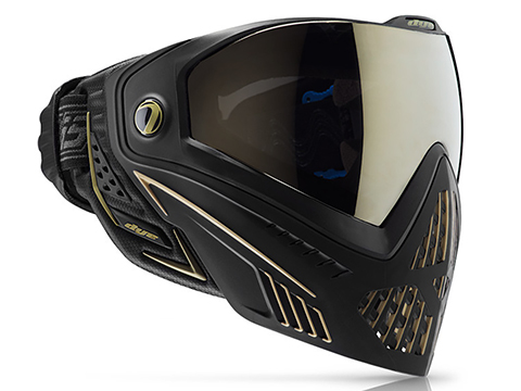 Dye i5 Pro Airsoft Full Face Mask (Style: Onyx / Gold)