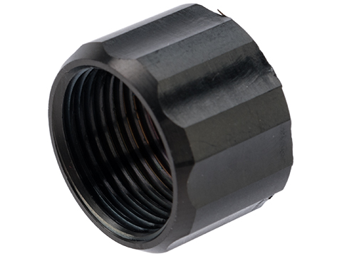 Dynamic Precision CNC Machined Aluminum 14mm Negative Thread Protector (Model: Type B / Black)