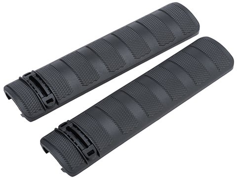DYTAC 6 Polymer Airsoft Rail Covers (Color: Black / Set of 2)