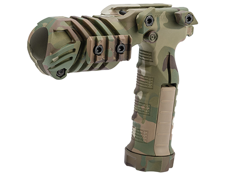 DYTAC Camo Multipurpose Flashlight Foregrip Mount (Color: Multicam)