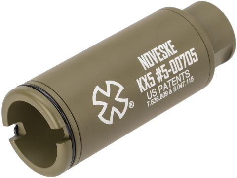 EMG Noveske Flash Hider w/ Built-In ACETECH Lighter S Ultra Compact Rechargeable Tracer (Model: KX5 / Bazooka Green)