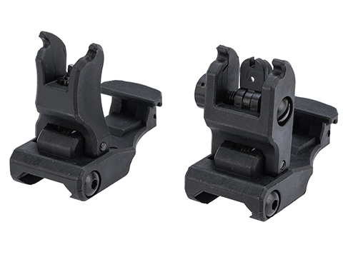 Dytac Flip-Up Folding Back Up Sight Set