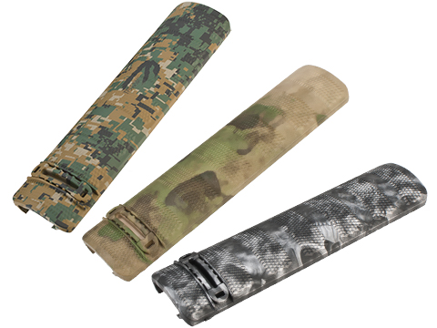 DYTAC 6 Camo Polymer Airsoft Rail Covers - Set of 2 (Color: Digital Woodland)