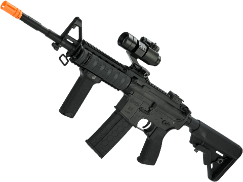 DYTAC Combat Series M4A1 with RAS II Handguard (Color: Black Cerakote)