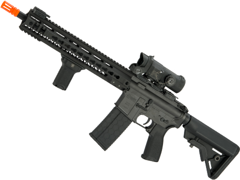 DYTAC MK4 SMR 14.5 Black Jack M4 Carbine Airsoft AEG Rifle (Color: Black)