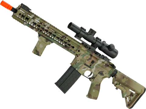 DYTAC MK4 SMR 14.5 Black Jack M4 Carbine Airsoft AEG Rifle (Color: Multicam)