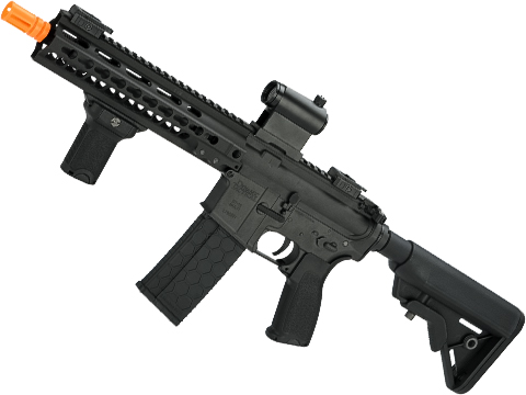 DYTAC MK5 SMR 10.5 Black Jack M4 Carbine  Airsoft AEG Rifle (Color: Black)