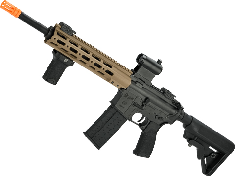 Dytac MK1 SMR Black Jack Strategic Full Metal M4 Airsoft AEG (Model: 10 Rail / Midnight Dark Earth Cerakote)
