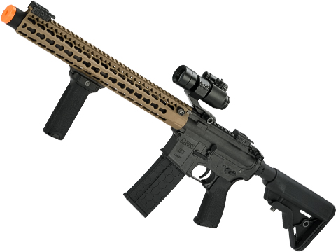 Dytac Bravo Stealth 15 Full Metal M4 Airsoft AEG with Keymod Handguard
