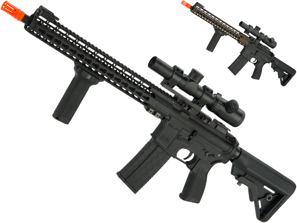 DYTAC SLR Licensed M4 Solo Lite SLR15 Full Size Airsoft AEG w/ Cerakote Surface Treatment