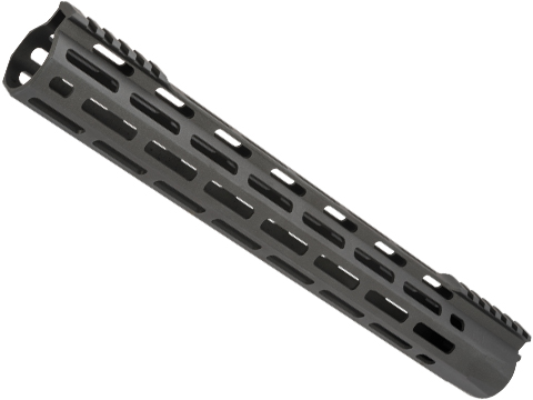 Dytac EVO Ultra Lite M-LOK Handguard for M4/M16 Series Airsoft AEGs (Color: Black Cerakote / 13.7)