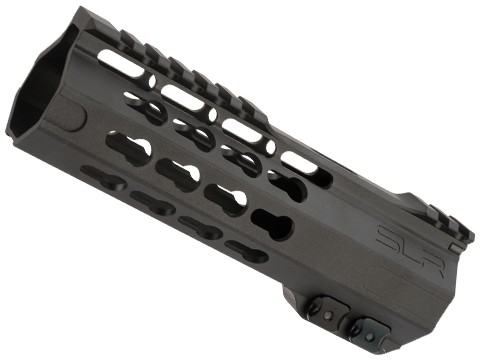 Dytac SLR ION Ultra Lite Keymod Handguard for M4/M16 Series Airsoft AEGs (Color: Black Cerakote / 6.7)
