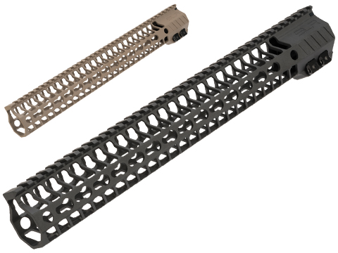Dytac SLR Helix F Keymod Handguard for M4/M16 Series Airsoft AEGs