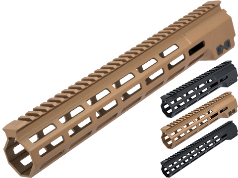 Dytac MK16 Gamma Style M-LOK Handguard for M4/M16 Series Airsoft AEGs (Color: Dark Earth / 13)