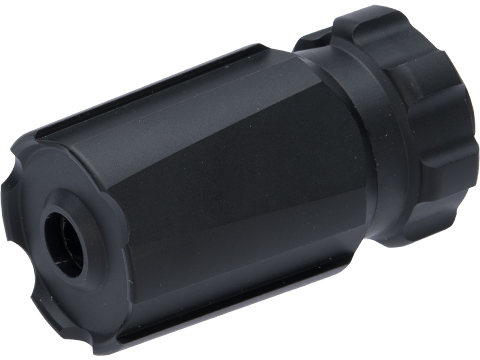 Dytac BLAST Flash Hider for Airsoft Rifles (Type: Built-In Xcortech XT301 Mini Tracer Unit / 14mm Negative)