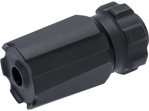 Dytac BLAST Flash Hider for Airsoft Rifles (Type: Case Only / 14mm Negative)