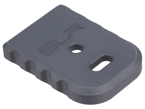 SLR Licensed Magazine Base Plate for GLOCK 17 Series Airsoft GBB Pistols (Model: ISSC M22, SAI BLU)