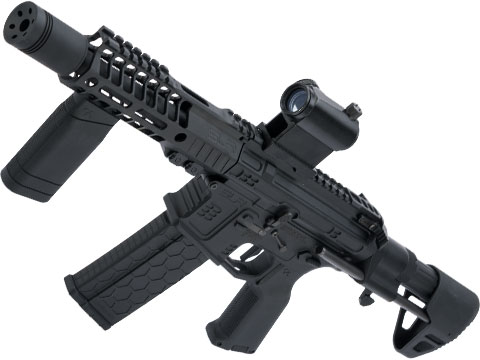 DYTAC SLR B15 Helix Ultralight PDW Airsoft AEG (Color: Black / 350 FPS)