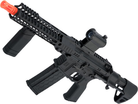 DYTAC SLR B15 Helix Ultralight SBR Airsoft AEG (Color: Black / 350 FPS)