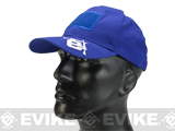 Evike.com Mil-Spec Patch Ready Tactical Ball Cap - Blue (Type 2)